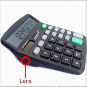 hidden Spy Calculator Camera Recorder - 8GB Calculator Camera Hidden Camera DVR