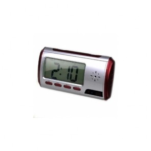 hidden Spy Clock Cam - New Red Clock Camera 1280*960 with Video Photo Motion Detection and Remote Control Function