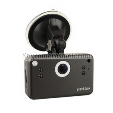"Classic Car Video Recorder - 5M CMOS 2.5"" LCD Screen HD Night Vision DVR with 800MA Rechargeable Battery"