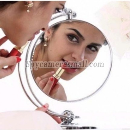 Double Sided Mirror hidden spy cam - LED Lighted Double Sided Mirror Hidden Bedroom Spy HD Camera DVR 8GB 1280x720