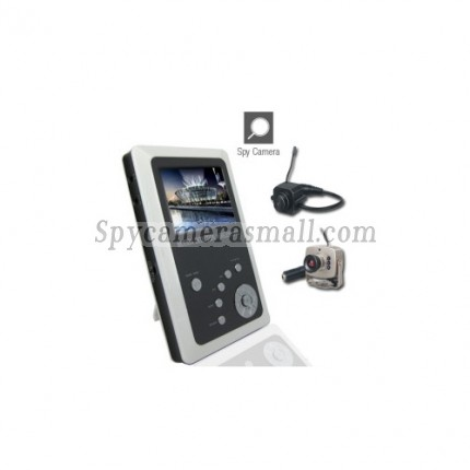 Baby spy camera - 2.5 Inch TFT LCD 2.4GHz Wireless DVR Baby Monitor Kit with Small Camera
