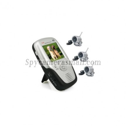 Baby spy camera - 2.5 Inch Baby Monitor with 2 Cameras + MP4 Function