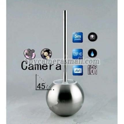 Toilet Brush Hidden Splash 720P HD Bathroom Spy Camera Motion Detection DVR 16GB (camera lens 45 degree up)