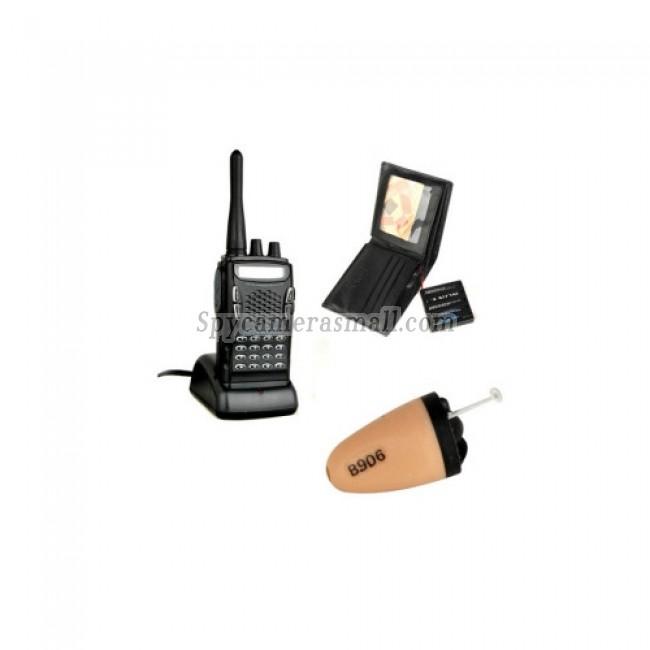 spy camera - Wireless Spy Earpiece Kit