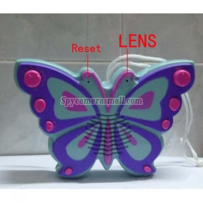 Bathroom Spy Shower Radio Camera - HD Butterfly Shower Radio hidden Pinhole HD Bathroom Spy Camera DVR 32GB 1280X720