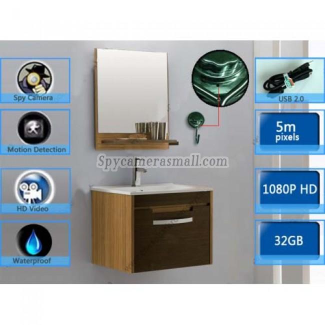 gancho para la ropa camara oculta en motel en baño 32G DVR Full HD 1080P con detector de movimiento mejores camara escondida