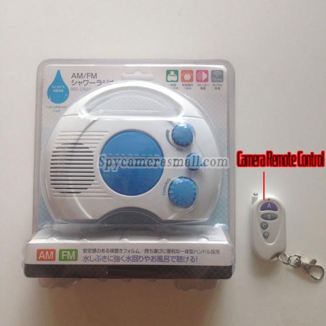 radio camaras de vigilancia ocultas en baño 32G DVR Full HD 1080P con detector de movimiento mejores camara escondida