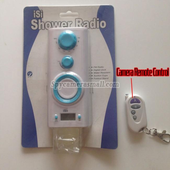 radio 2016 Impermeable camara oculta en baño en baño 16G DVR Full HD 720P con detector de movimiento mejores camara escondida