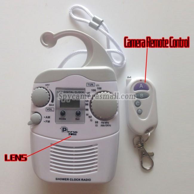 radio camera oculta en baño 32G DVR Full HD 1080P con detector de movimiento mejores camara escondida