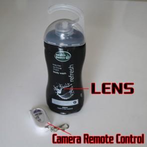 Men's Shower Gel HD Bathroom Spy Camera 720P DVR 16GB (Motion Detection) best  Bathroom Spy Camera